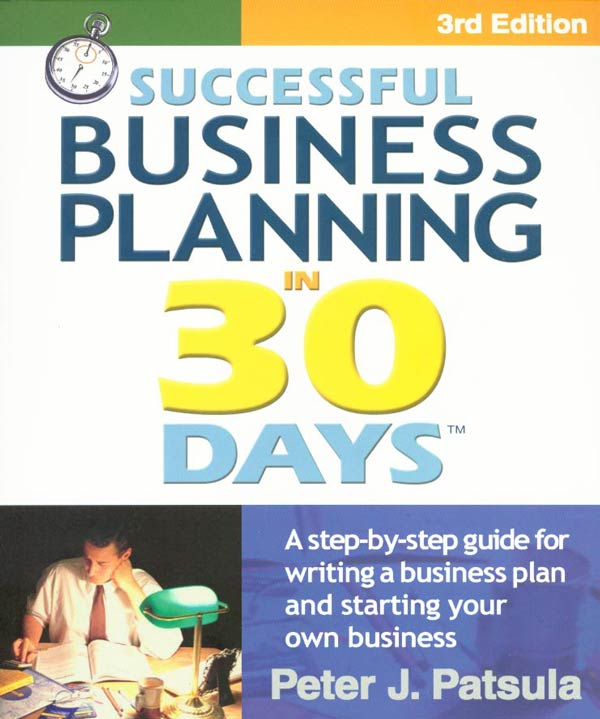 Businessplan30Days.Com - Successful Business Planning In 30 Days